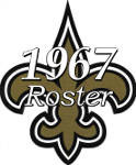 1967 New Orleans Saints Team Roster