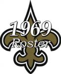 1969 New Orleans Saints Team Roster