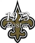 New Orleans Saints 1973 NFL Season Team Roster
