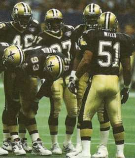 Sam Mills calls plays for the 1994 New Orleans Saints Defense