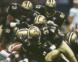 New Orleans Saints Defense in 1994