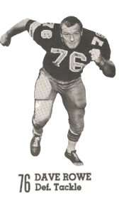 Dave Rowe of the 1969 New Orleans Saints