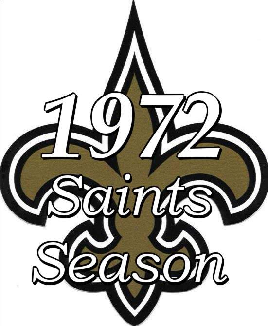 The 1972 New Orleans Saints NFL Season