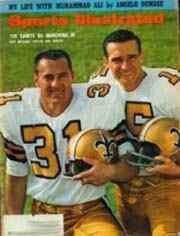 New Orleans Saints on cover of Sports Illustrated 1967