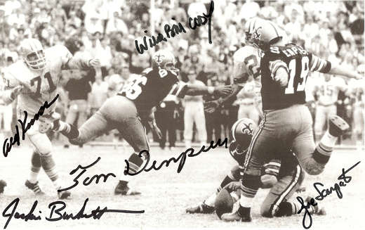 Tom Dempsey's record