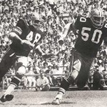 Andy Livingston and Jake Kupp of the 1969 New Orleans Saints