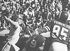 Archie Manning versus the LA Rams, 1971 Saints action