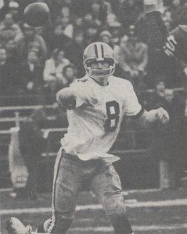 Saints QB Archie Manning in 1973