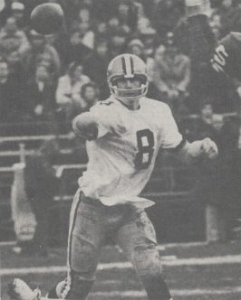 Saints QB Archie Manning in 1973