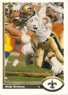 New Orleans Saints Tight End Hoby brenner