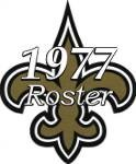New Orleans Saints 1977 NFL Season Team Roster