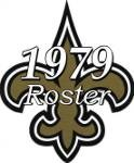 New Orleans Saints 1979 NFL Season Team Roster