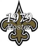 New Orleans Saints 1979 NFL Season Team Roster