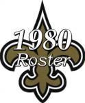 New Orleans Saints 1980 NFL Season Team Roster