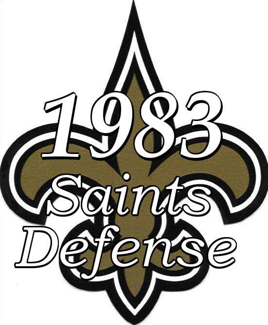 1983 New Orleans Saints Defensive Statistics