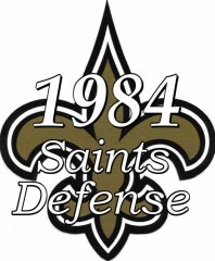 1984 New Orleans Saints Defensive Statistics