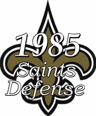 1985 New Orleans Saints Defensive Statistics
