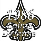 1986 New Orleans Saints Defensive Statistics