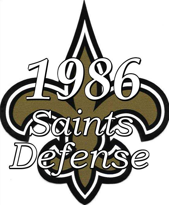 1986 New Orleans Saints Defense