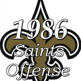 1986 New Orleans Saints Offensive Statistics