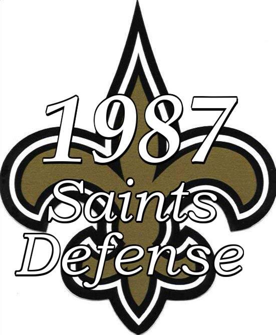 1987 New Orleans Saints Defense