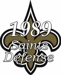 1989 New Orleans Saints Defensive Statistics