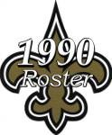New Orleans Saints 1990 NFL Season Team Roster
