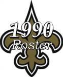 New Orleans Saints 1990 NFL Season Team Roster