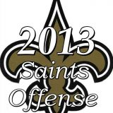 2013 New Orleans Saints Offensive Statistics
