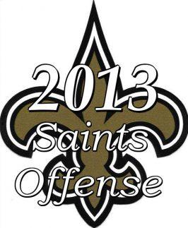 2013 New Orleans saints Offense