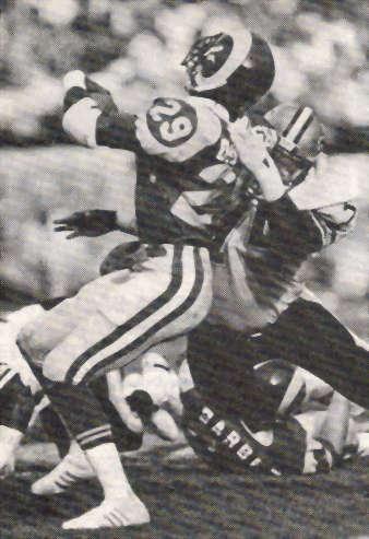 Bruce Clark of the 1987 New Orleans Saints