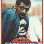 Chuck Muncie, New Orleans Saints Rookie in 1976