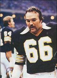 Conrad Dobler of the New Orleans Saints
