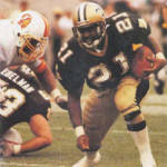 Top 10 New Orleans Saints Leaders – Most Touchdowns Rushing in a Career