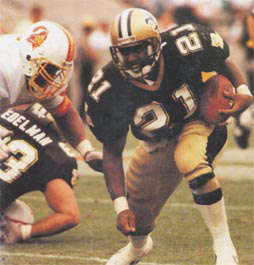 Dalton Hillard of the 1989 New Orleans Saints
