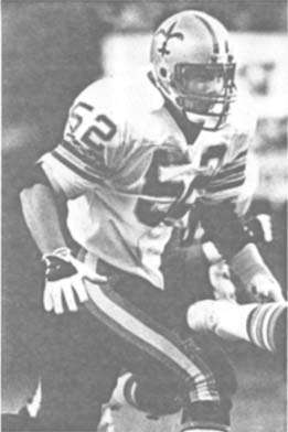 Jim Kovach, New Orleans Saints Linebacker, 1983