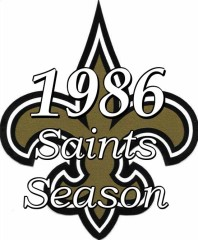 The 1986 New Orleans Saints Season