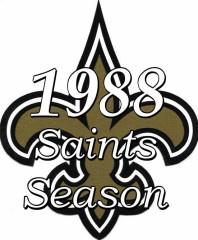 New Orleans Saints 1988 NFL Season