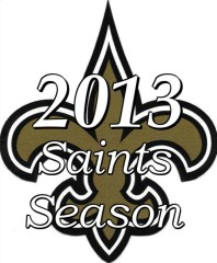 New Orleans Saints 2013 NFL Season