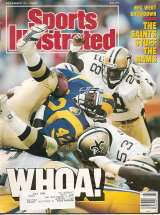 After the upset of the Los Angeles Ram, the Saints made the Cover of Sports Illustrated
