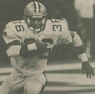 Reuben Mayes New Orleans Saints -1987