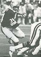 Tony Galbreath of the 1978 New Orleans Saints