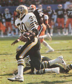 Wayne Wilson New Orleans Saints 1985