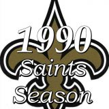 The 1990 New Orleans Saints Season