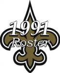 New Orleans Saints 1991 NFL Season Team Roster