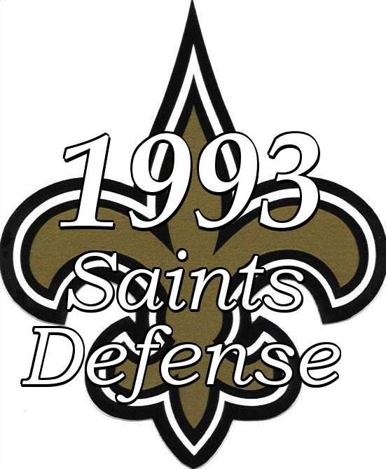 1993 New Orleans Saints Defense