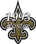 New Orleans Saints 1993 NFL Season Team Roster