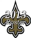 New Orleans Saints 2013 NFL Season Team Roster