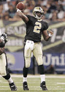 Arron Brooks - New Orleans Saints Quarterback, 2000-2005