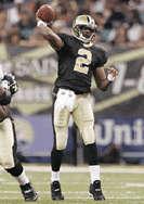 Arron Brooks - New Orleans Saints Quarterback, 2000-2005